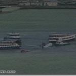 Avion prabusit in Hudston river la New York