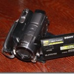 My new video camera: SONY HDR – SR12E