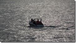 barca in Mediterana