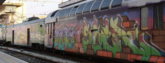 tren grafitti