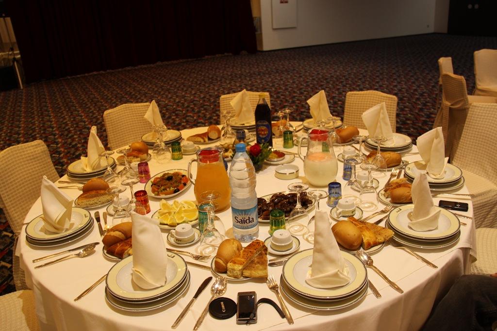 Masa traditionala de iftar