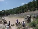 Delphi - stadionul