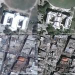 Dezastrul din Haiti vazut din satelit