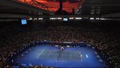 Australian Open 2010 final court