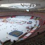 Stadionul olimpic de la Beijing transformat in Winterland