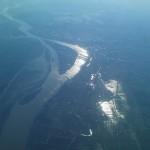 Dunarea vazuta din avion