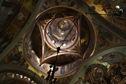 pictura in interiorul manastirii putna