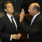 Sarkozy si Basescu despre problema tiganilor