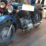 Motocilete vechi la expozitie