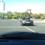 Un Ferrari prin oras