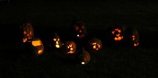 fantomele de halloween