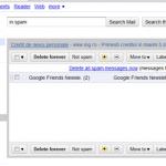 Google trimite spam?
