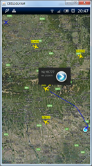 flight radar xperia