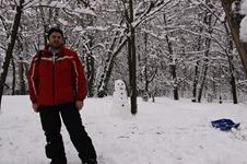 iarna prin parc
