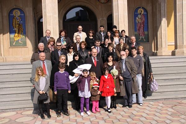 La botez la Petru Rares in Buzau