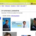 Antonescu si Geoana in aceeasi oala la Google