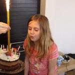 Catalina la 9 ani!
