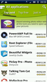 android market pe bani