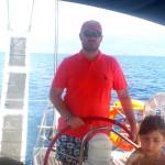 I am sailing…