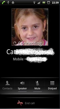 small contact picture