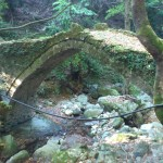 The old stone bridge of Tsangarada