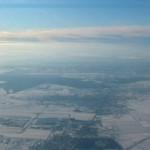 Otopeni vazut de sus iarna