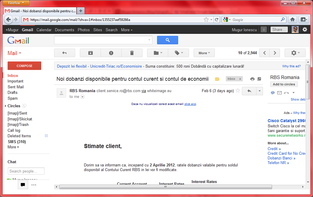 Is Google reading your Gmail messages? – Mugur Ionescu