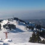 La ski in Poiana Brasov