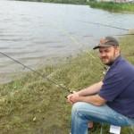 La o partida de pescuit pe lacul Crevedia
