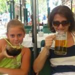 La o bere in Barceloneta