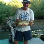 La pescuit cu Serban in Delta Dunarii