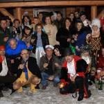 Poza de grup: O parte din gasca de la Revelion
