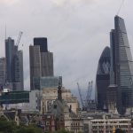 Londra – vedere de pe podul Waterloo