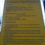 Instructiuni de utilizare a parcajului