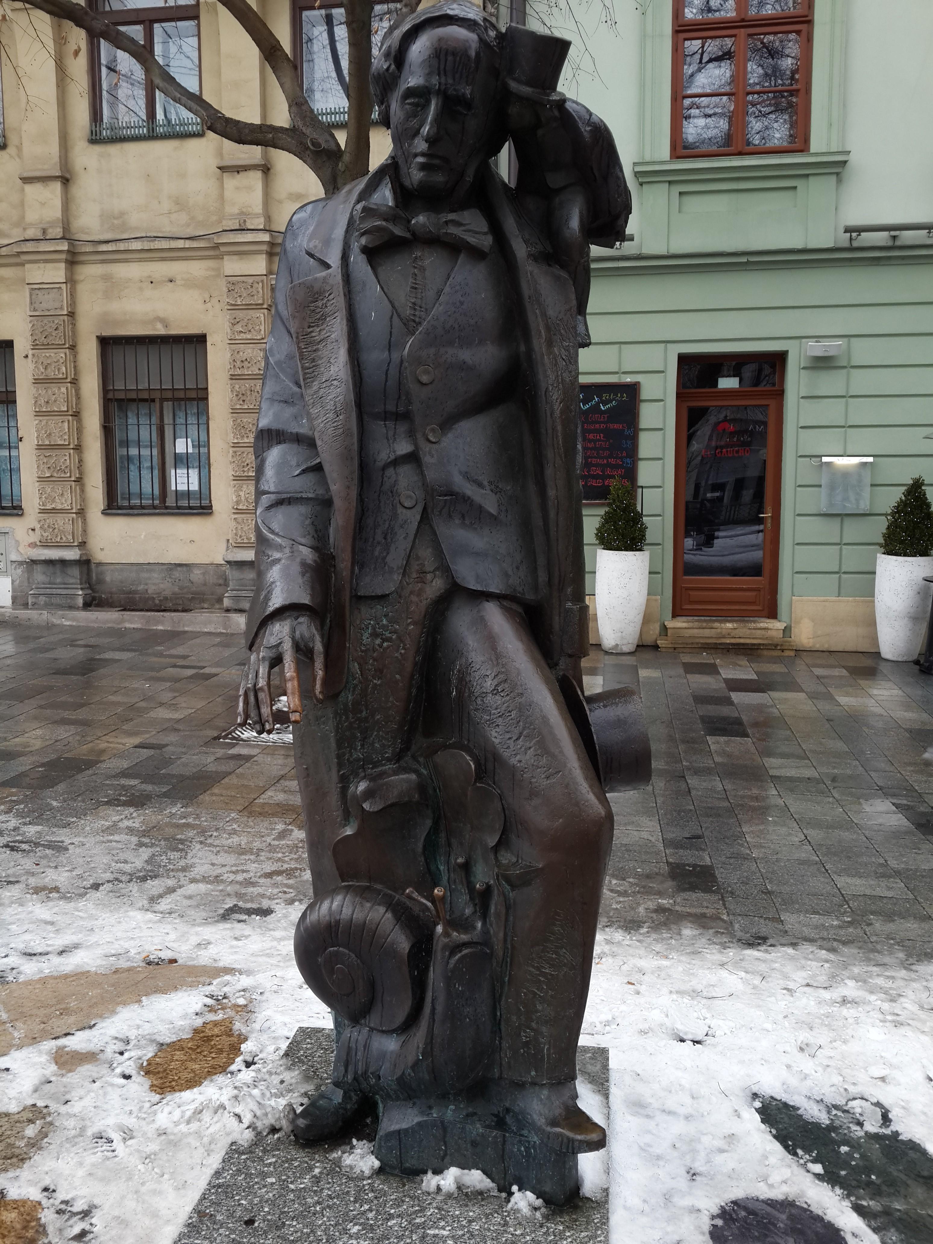Statui in Bratislava