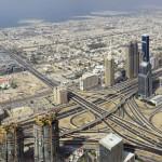 Dubai Downtown panorama